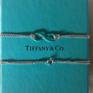 Enamel Infinity Necklace by Tiffany & Co.